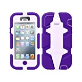 Griffin Survivor Military Tested Case for iPhone 5 - Purple / Lavender