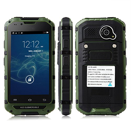 Tengda V6 Smartphone Ip68 Android 4.2 Mtk6572 4.0 Inch Wifi Green