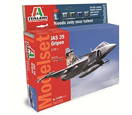 Italeri - I71306 - Maquette - Aviation - Set Jas 39 Gripen