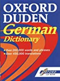 Oxford Duden German Dictionary CD-ROM (0192683101) by OUP