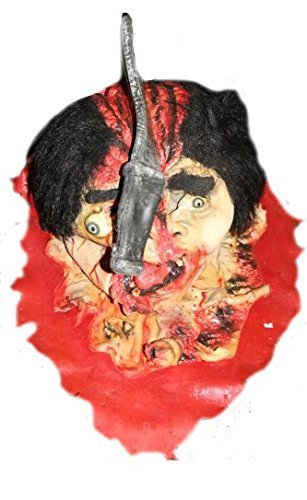 Bloody Cleaver in Head Prop