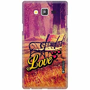 Printland Back Cover For Samsung Galaxy On7 - Love Designer Cases