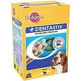 Pedigree Dentastix - Hygiène Bucco Dentaire - Moyen Chien - 1 boîte de 28 Bâtonnets