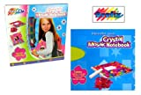 Grafix Decorate Your Own Crystal Mosaic Notebook Toys & Games Art & Craft Make Your Own 5015934390399