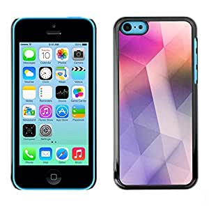 Omega Covers - Snap on Hard Back Case Cover Shell FOR Apple iPhone 5C - Pink Soothing Clean Design Colors
