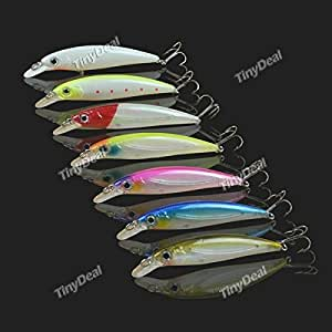 Single Sell 11cm/ 14g Plastic High Simulation Fishing Lure Minnow Hard Bait-Color Assorted SFS-313115
