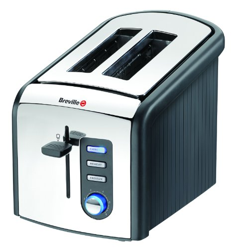 Breville VTT214 Polished Stainless Steel 2 Slice Toaster from Breville