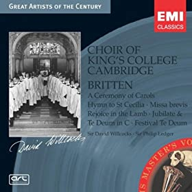 A Ceremony of Carols Op. 28 (2004 Digital Remaster): IV: (b) Balulalow