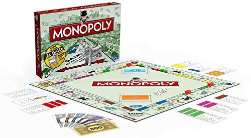 Hasbro Gaming - Monopoly clásico, juego de mesa (00009546) (versión española)