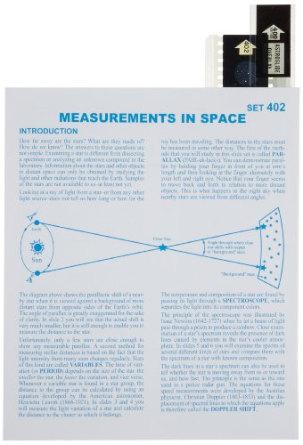 American Educational Measurements In Space Astroslide Chart