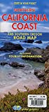 img - for Northern California Coast and Southern Oregon Road Map book / textbook / text book