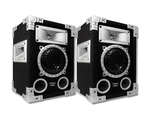 Acoustic Audio GX-350 Pair 500 Watt Pro DJ Speakers PA Studio Monitors