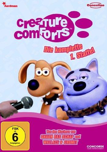 Creature Comforts - Die komplette 1. Staffel [Alemania] [DVD]