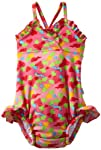 i play. Baby-girls Infant Ultimate Swim Diaper Triangle Tanksuit