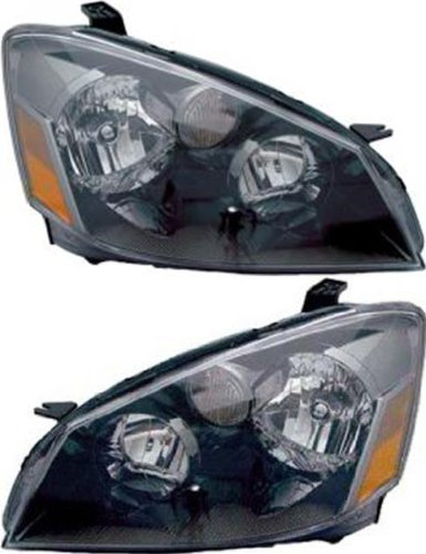 Prime Choice Auto Parts KAPNS10092A1PR Pair of 2 Halogen Headlights (2006 Nissan Altima Headlights compare prices)