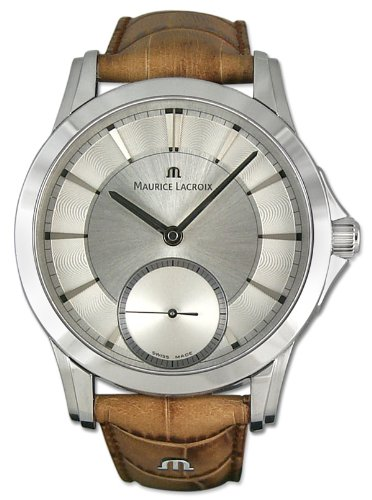 Maurice Lacroix Pontos Manual Wind Stainless Steel Mens Watch pt7518-ss001-130