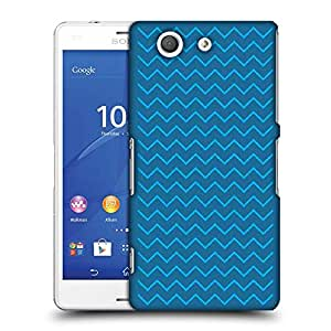 Snoogg wave minimalistic 2903 Designer Protective Back Case Cover For SONY XPERIA Z3 COMPACT