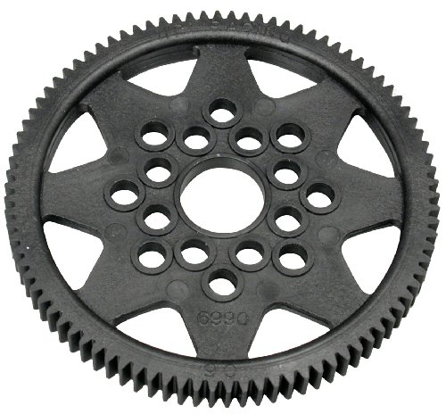 HPI Racing 6990 Spur Gear 48P, Carbon Fiber, 90T - 1