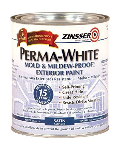 rust-oleum-3104-white-zinsser-perma-mold-and-mildew-proof-exterior-satin-paint-1-quart-can-pack-of-6