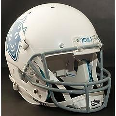 DUKE BLUE DEVILS 1966-1969 Schutt AiR XP Authentic GAMEDAY Football Helmet by ON-FIELD