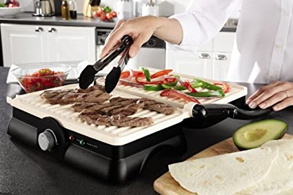 Oster DuraCeramic Panini Maker and Grill Sandwich maker