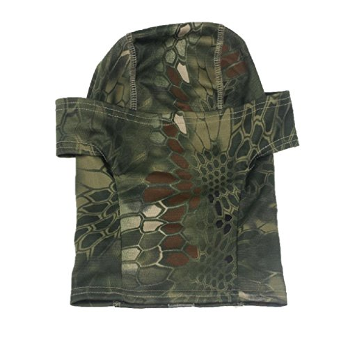 1PC Camouflage Army Cycling Motorcycle Cap Balaclava Hats Full Face Mask (Green) (Uv Protective Face Shield compare prices)
