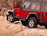 Factory Style Sidesteps for 2001-2006 Jeep Wrangler