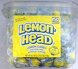 Lemonhead 150ct Tub - Individually Wrapped