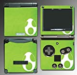 New Super Mario World 3D Bros Yoshi's New Island Video Game Vinyl Decal Cover Skin Protector for Nintendo GBA SP Gameboy Advance Game Boy