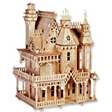 Fantasy Villa 3-D Wooden Puzzle Kit
