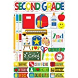 Making The Grade Second Grade Stickers