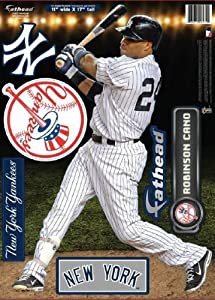 New York Yankees Robinson Cano Fathead Teammate Case Pack 6