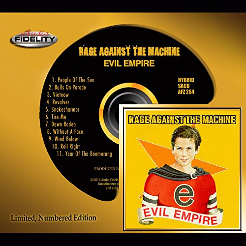 Evil Empire Rage Against the Machine Audio Fidelity