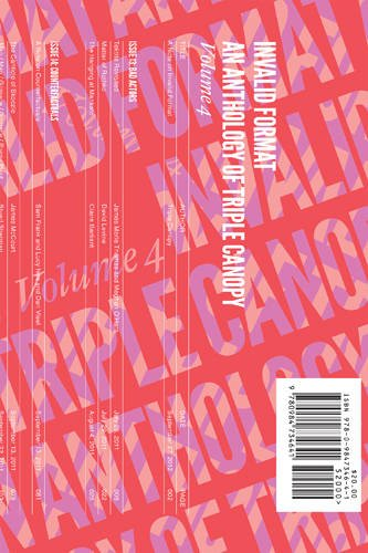 Invalid Format: An Anthology of Triple Canopy Volume 4 (Coleman Gabriella compare prices)