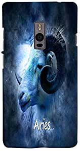 PrintVisa 3D-OP2-D8172 Zodiac Aries Case Cover for OnePlus 2