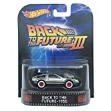 Back To The Future 1955 Time Machine Back To The Future Part Iii Hot Wheels 2015 Retro Series 1/64 Die Cast Vehicle by Hot Wheels