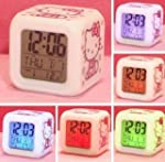 Hello Kitty Alarm Clock w/ Soothing G...
