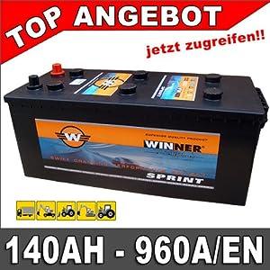 LKW Batterie 140AH Starterbatteri e 12V ersetzt 120Ah 125Ah 145Ah  BaumarktKritiken und weitere Informationen