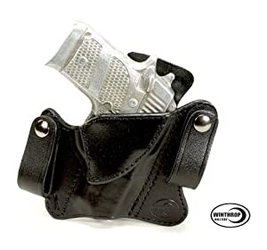 Amazon.com : Sig Sauer P938 NO Laser IWB Dual Snap Holster R/H Black