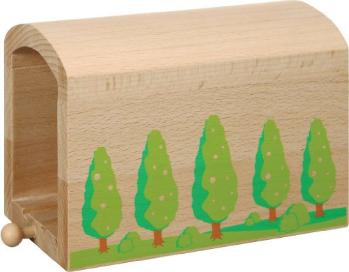 51fA9QU20jL Cheap Buy  Nuchi Wooden Railway / Tall Wood Tunnel
