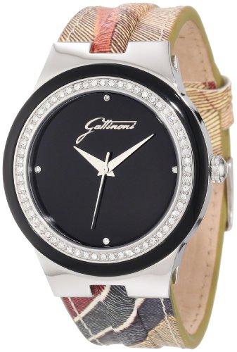 Gattinoni W0223GSTBLK Zircons Planetarium Leather