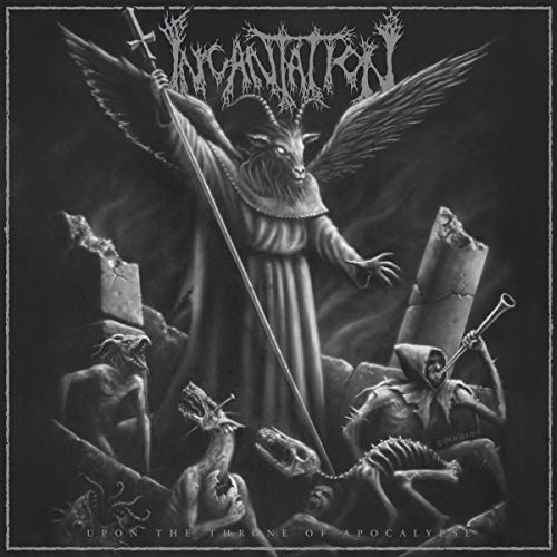 CD : Incantation - Upon The Throne Of Apocalypse (Reissue)