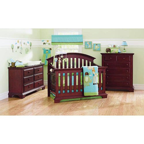 Summer Infant Giggle Gang 8-Piece Crib Bedding Set