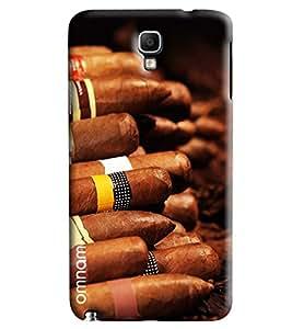 Omnam Ciggarte Pattern Printed Designer Back Cover Case For Samsung Galaxy Note 3 Neo