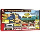 Life-Like Trains  HO Scale  Trans-American Express Electric Train Set