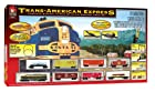 Life-Like Trains  HO Scale  Trans-American Express Electric Train Set