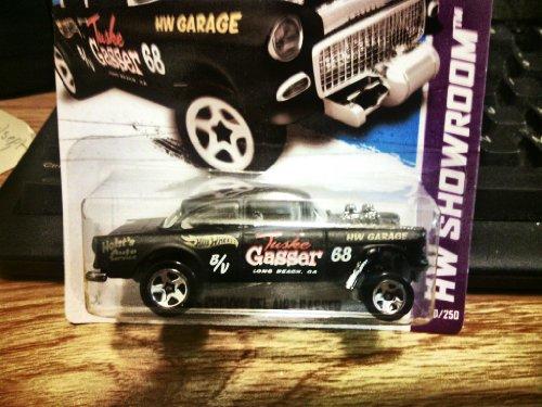 2013 '55 Chevy Bel Air Gasser Black HW Showroom 190/250