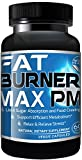 Fat Burner Max PM For Men & Women, Natural Weight Loss Supplements, Best Diet Pills That Work - 60 Capsules