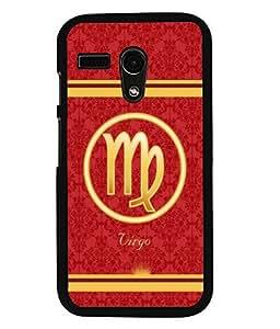 Fuson 2D Printed Sunsign Virgo Designer back case cover for Motorola Moto G - D4394