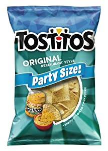 Tostitos Tortilla Chips, Party Size Original, 18 Oz